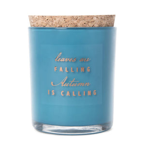 Leaves Are Falling Jar Candle