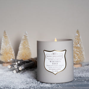 Winters Edge Jar Candle