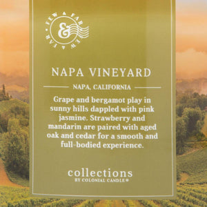 Napa Vineyard Jar Candle