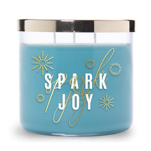 Collections by Colonial Candle Scented Jar Candle, Spark Joy, 14.5 oz, Single