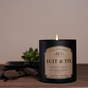 Suit & Tie Jar Candle