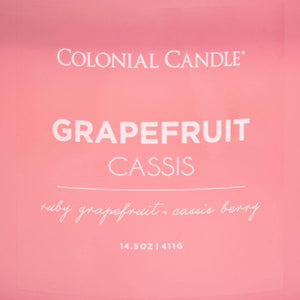 Grapefruit Cassis Jar Candle
