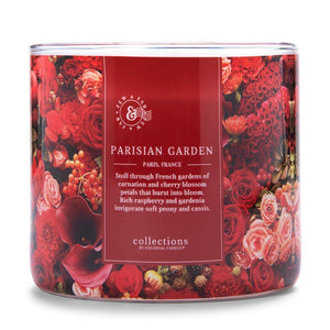 Scented Jar Candle Collections by Colonial Candle, Travel Collection, Parisian Garden, 14.5 oz, Single