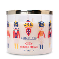 Colonial Candle Scented Jar Candle, Holiday Traditions Collections, Cozy Winter Fleece, 14.5oz, Single