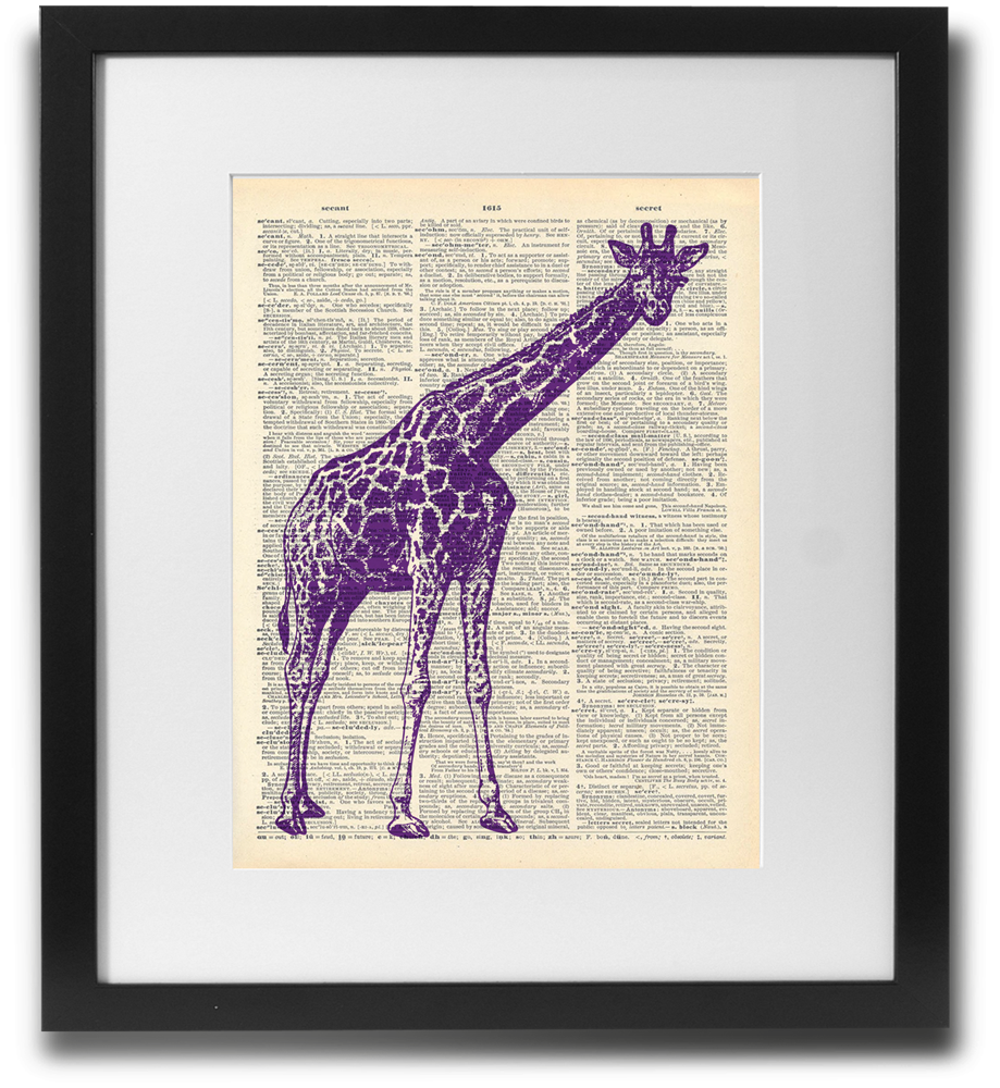 Purple Giraffe