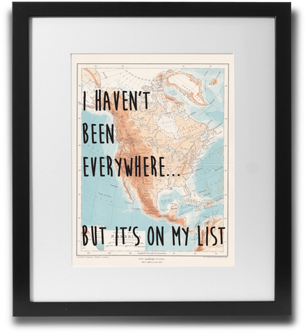 I haven't been everywhere... - LimitedAddition