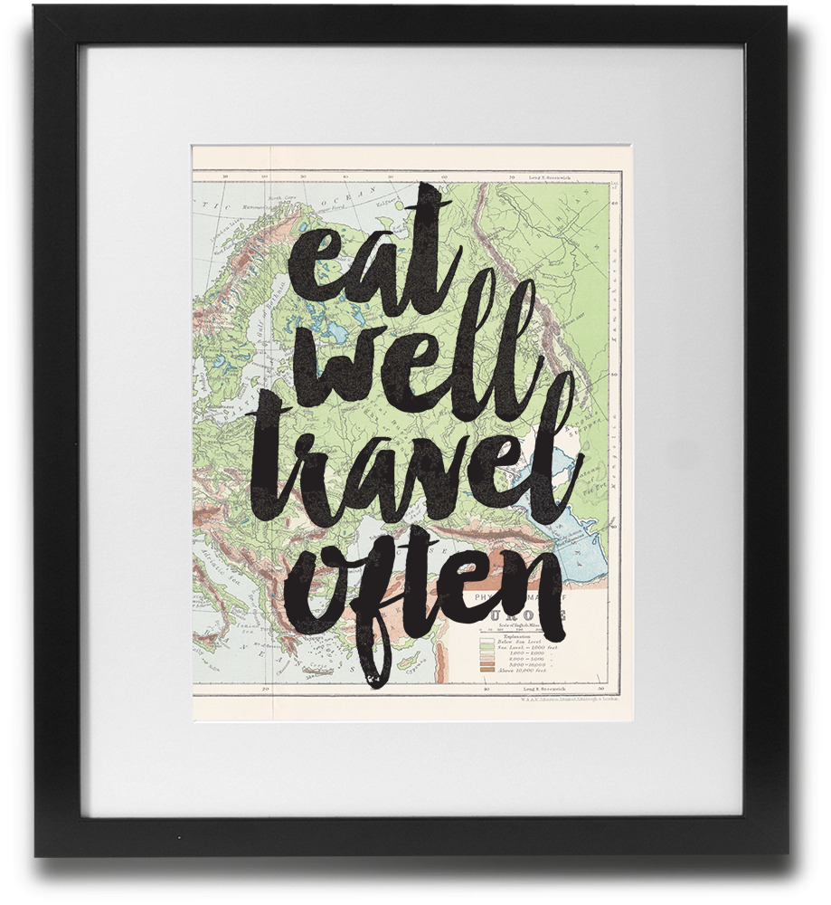 Eat well travel often - LimitedAddition