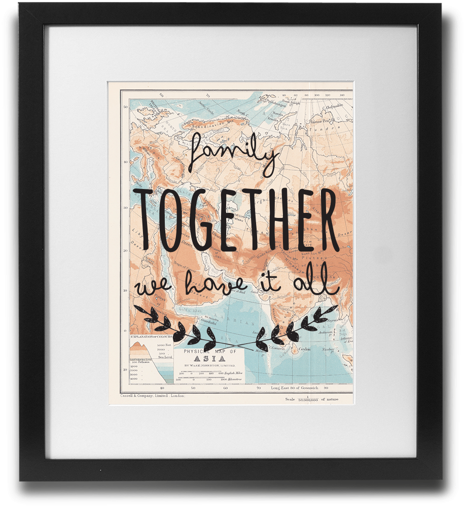 Family together, we have it all - LimitedAddition