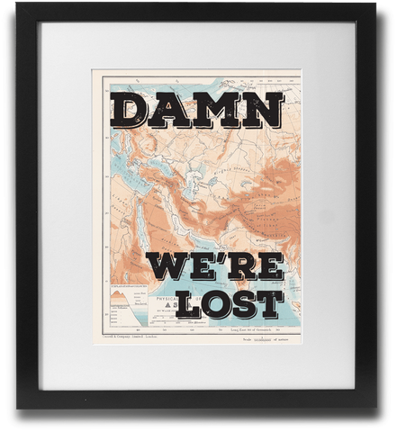 Damn, we're lost - LimitedAddition