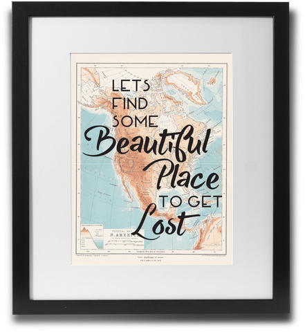 Let's find some beautiful place to get lost - LimitedAddition
