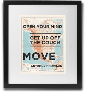 Open your mind, Get up off the couch, MOVE - LimitedAddition