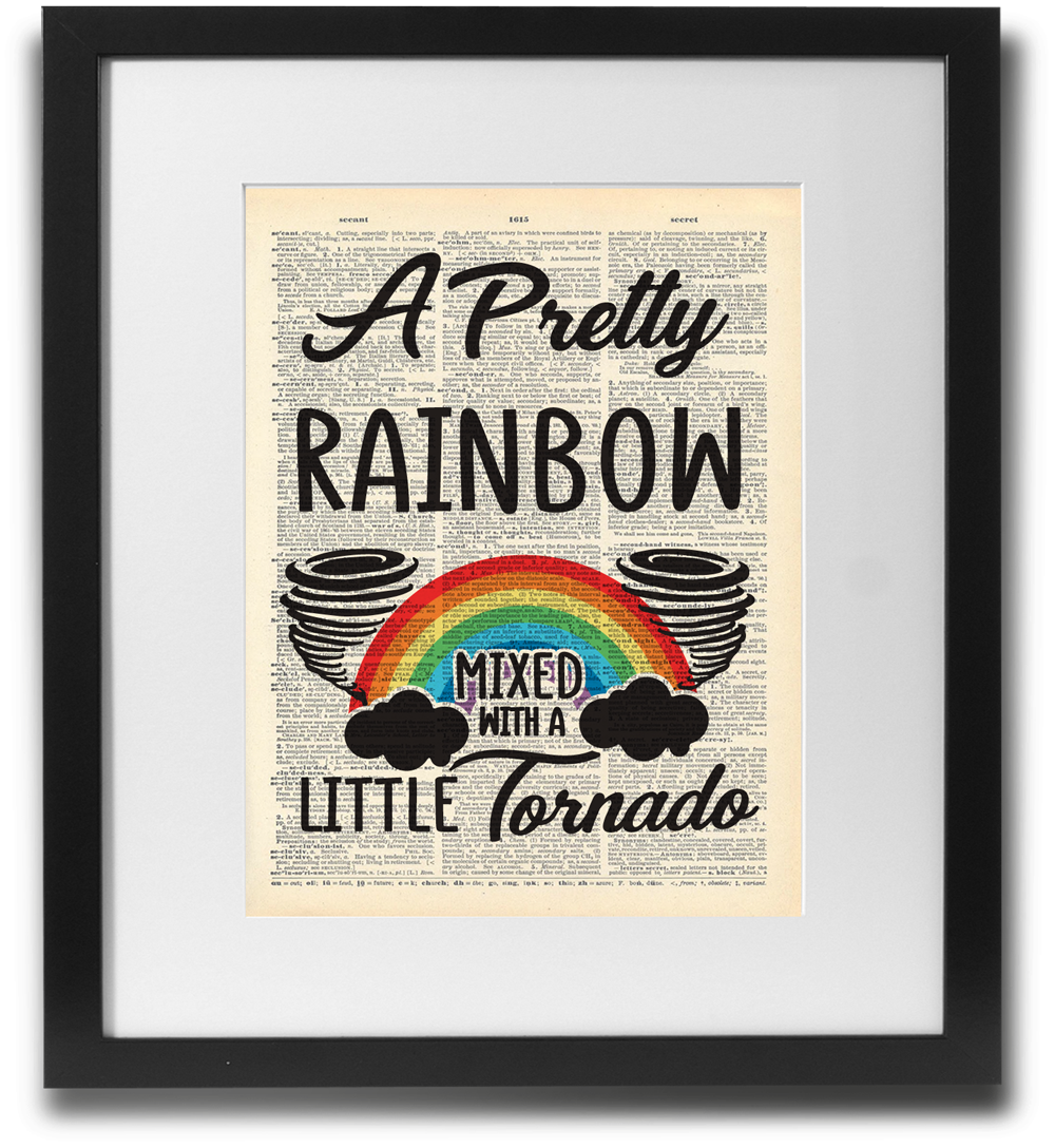 A pretty rainbow mixed with a little tornado - LimitedAddition