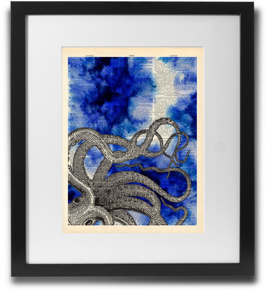 Octopus water Blue - LimitedAddition