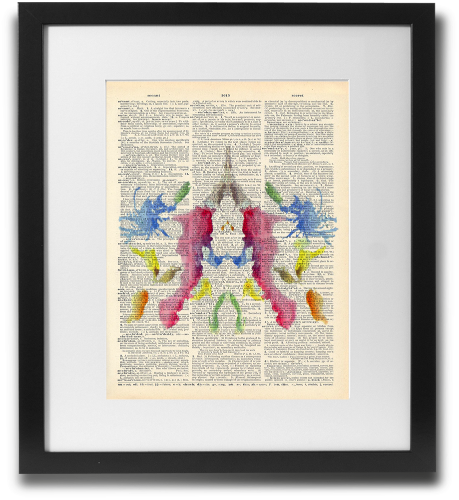 Rorschach ink blot #10 - LimitedAddition