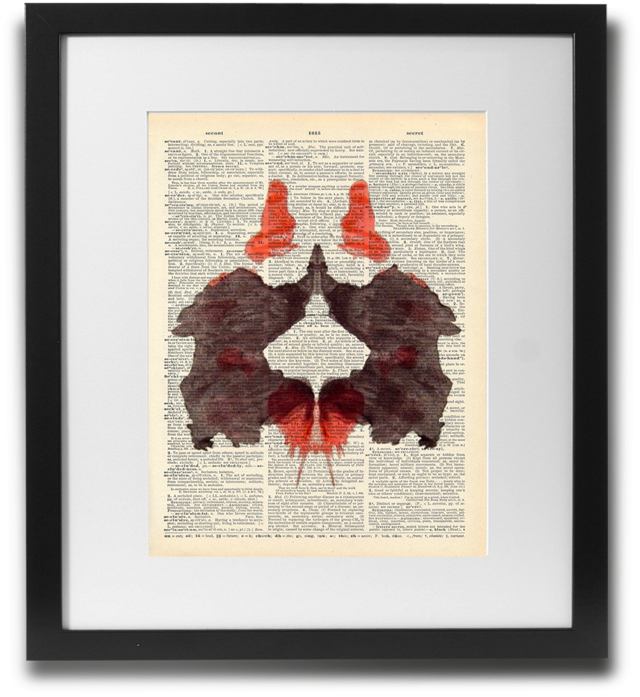 Rorschach ink blot #2 - LimitedAddition