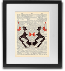 Rorschach ink blot #3 - LimitedAddition