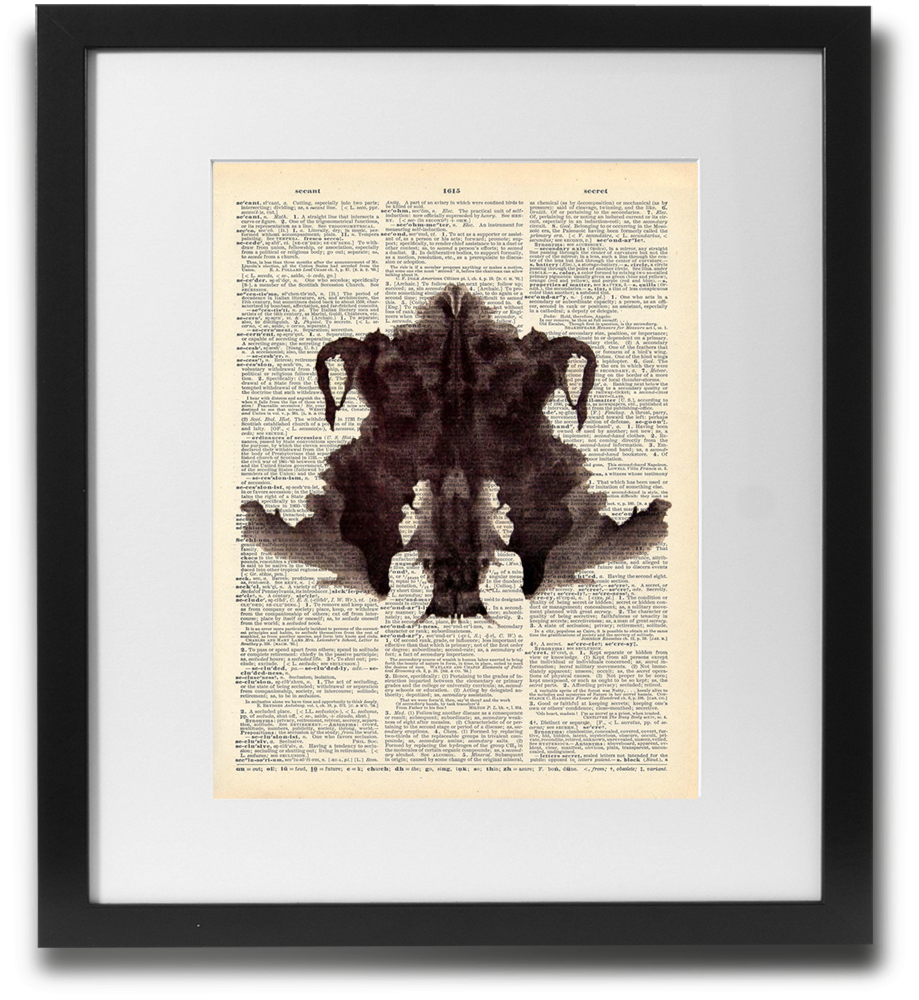 Rorschach ink blot #4 - LimitedAddition