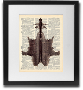 Rorschach ink blot #6 - LimitedAddition