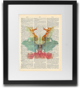 Rorschach ink blot #9 - LimitedAddition
