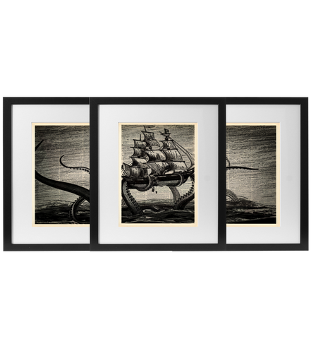 The Kraken (full set of 3) - LimitedAddition