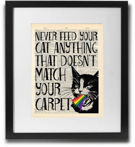 Never feed your cat... - LimitedAddition