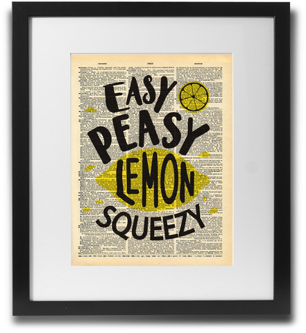 Easy Peasy lemon squeezy - LimitedAddition