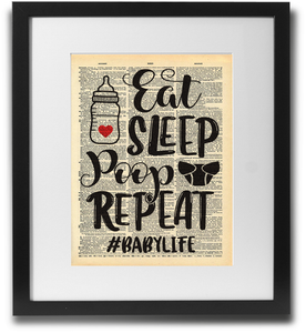 Eat, Sleep, Poop, repeat - LimitedAddition