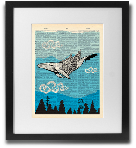 The Great Pacific Northwestern Sky Whale - LimitedAddition