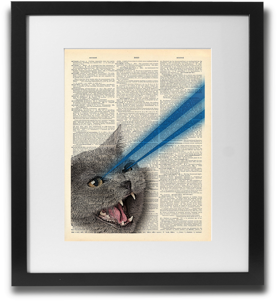 Laser Cat (blue) - LimitedAddition