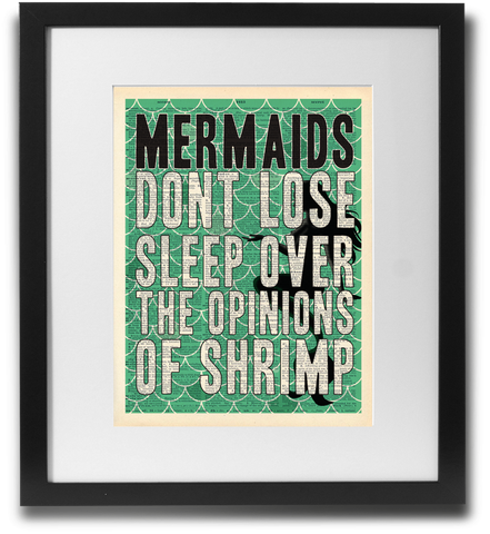 Mermaids Dont Lose Sleep... - LimitedAddition