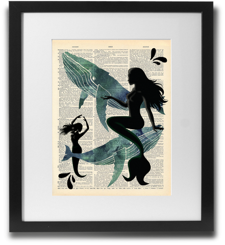 Mermaids and whales - LimitedAddition