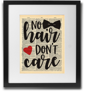 No hair, don't care! - LimitedAddition