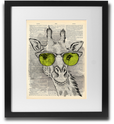 The futures so bright... Giraffe