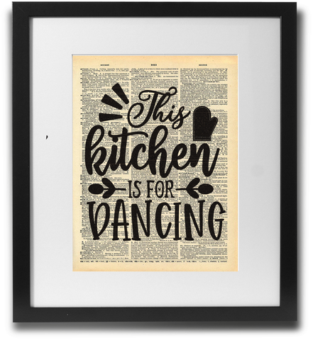 This kitchen is for dancing - LimitedAddition