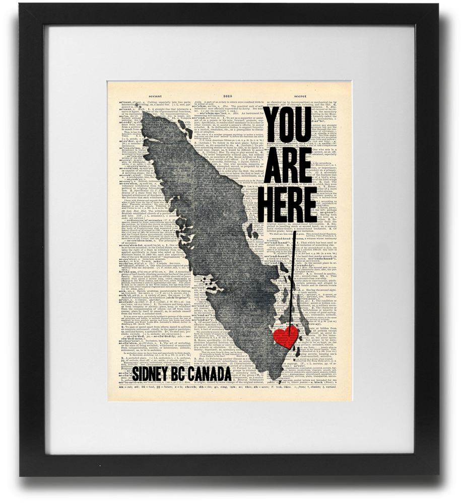 You are here (Sidney BC) - LimitedAddition