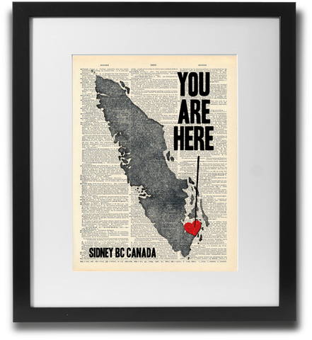 You are here (Sidney BC)