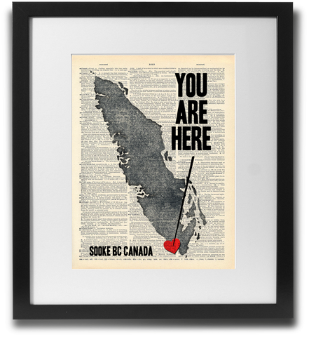 YOU ARE HERE (Sooke BC)