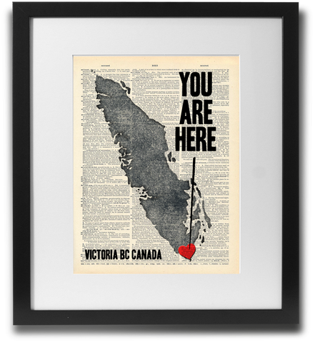YOU ARE HERE (Victoria BC)
