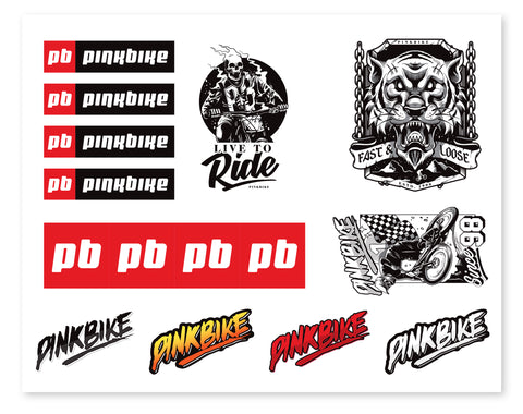 Pinkbike Sticker Pack