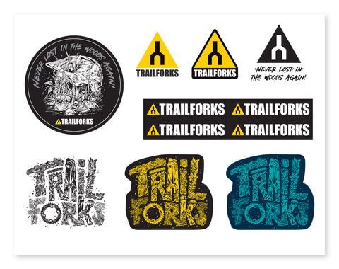 Trailforks Sticker Pack