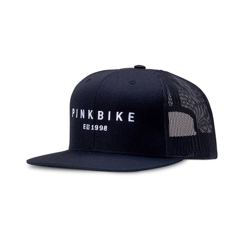 Pinkbike Arch Captuer Wool & Mesh Panel Trucker Hat Front