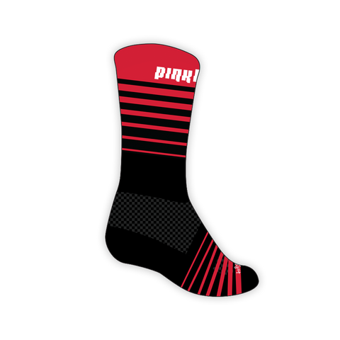 Pinkbike Stripes SGX Compression Socks