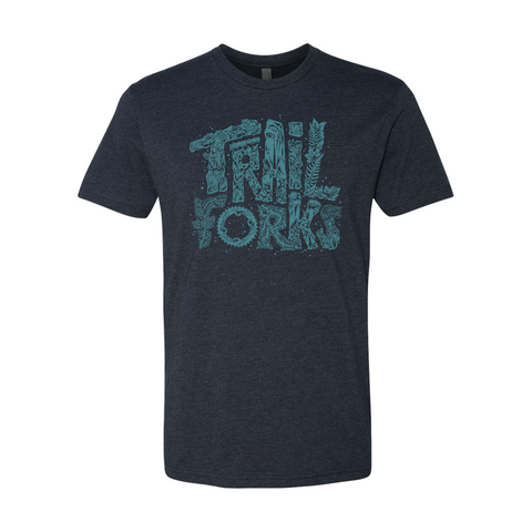 "Trailforks ""Nature Letters"" T-Shirt"