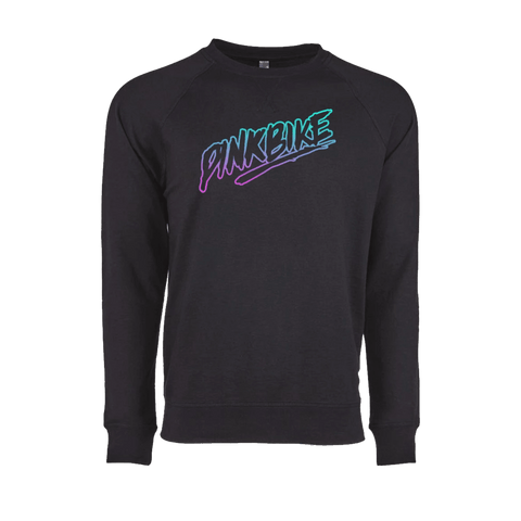 Limited Edition - Pinkbike Pink/Teal Rad Lightweight Sweatshirt