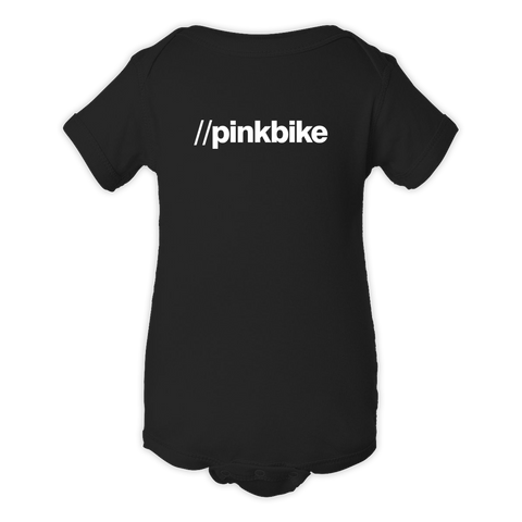 Pinkbike URL Black Infant Rabbit Skins Onesie