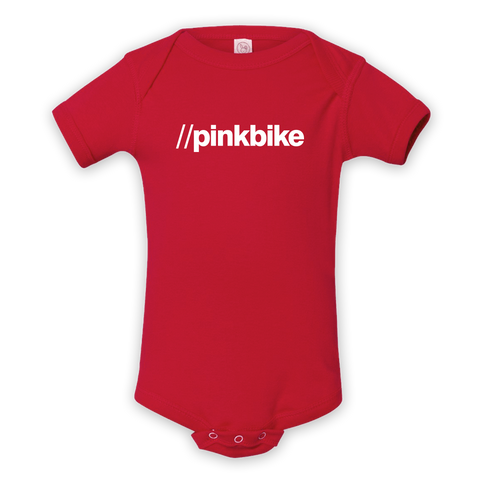 Pinkbike URL Red Infant Rabbit Skins Onesie