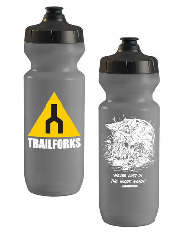"Trailforks ""Never Lost"" Purist Water Bottle"