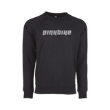 Pinkbike Wordmark Lightweight Crew Sweatshirt - Black