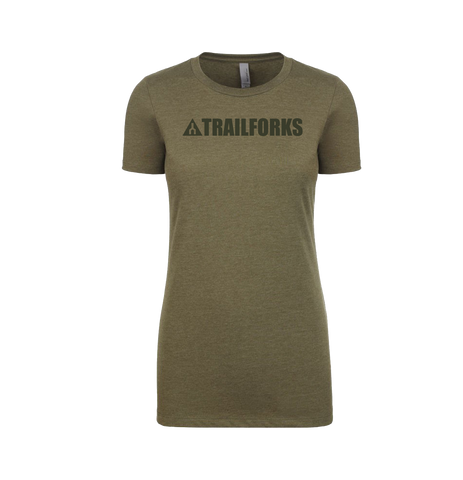Trailforks Women's Corporate Black Logo