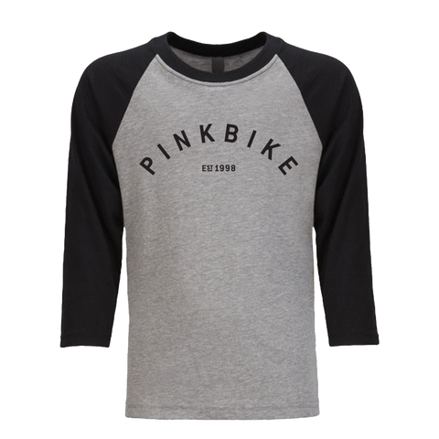 Pinkbike Youth Arch Baseball Tee